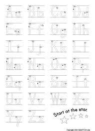 Best 25 Alphabet Worksheets Ideas On Pinterest Writing Alphabet ...