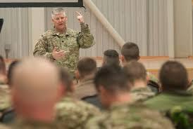 Oberstleutnant Edward Cloyd, stellvertretender Kommandeur der US ...