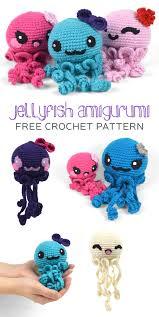 Amigurumi Crochet Patterns Extraordinary Free Crochet Pattern Friday Jellyfish Amigurumi Choly Knight