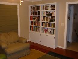 Wall Units, Premade Built In Bookshelves Floor To Ceiling Bookcase Kits Custom  Bookcases Built In