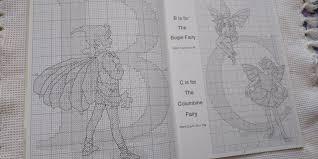クロスステッチ図案本 Flower Fairies Alphabet 3500 メルカリ スマホでかんたん フリマアプリ