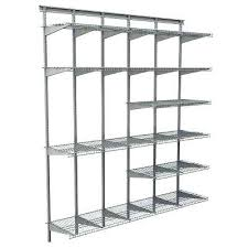 d2162032 closetmaid wire shelves satin chrome ventilated wire shelf system closetmaid wire shelving instructions l3039130 closetmaid wire shelves