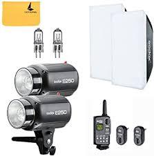 GODOX E250 500W (2x250W) Photo Studio Strobe ... - Amazon.com