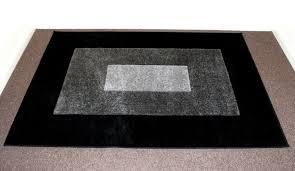 wilko large soft stain resistant tamara rug carpet charcoal black grey 120 x 170cm rrp 50