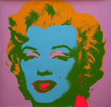andy warhol marilyn monroe marilyn 1967 screen print orange hair and