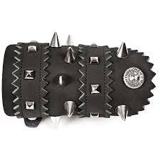 spiked leather sleeve jpg