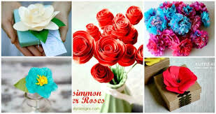 Paper Flower Designs 30 Diy Paper Flowers Step By Step Tutorials Template
