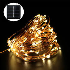Cheap Solar Outdoor String Lights 20ft 30 Led Warm White Crystal Cheap Solar Fairy Lights