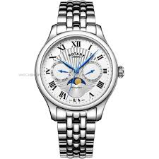 "men s rotary moonphase watch gb05065 01 watch shop comâ""¢ mens rotary moonphase watch gb05065 01"