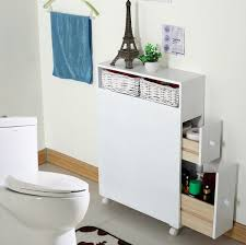 Minimalist Modern Bathroom Storage Cabinet Interior Design
