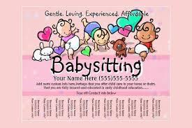 Babysitter Flyer Maker Pin By D On Babysitting Flyer Template Babysitting Flyers