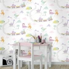 safari wallpaper nursery. Wonderful Wallpaper Holden Dino Town Dinosaur Pattern Childrens Wallpaper Kids Cartoon Train  12532 On Safari Nursery P