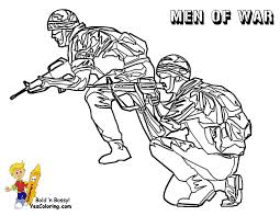 Gusto Coloring Pages To Print Army Army Free Military Coloring