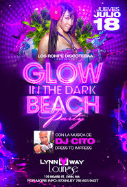glow flyer glow in the dark beach party flyer by deitydesignz on deviantart