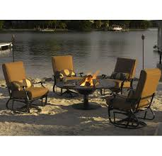 Fire Pit Patio Set by Telescope Casual Furniture