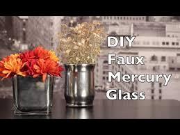diy mercury glass faux mercury glass tutorial