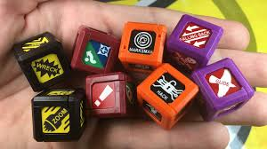 The ModCube is a gaming aid which enables you to keep 6 common gaming  tokens on