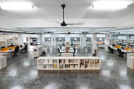 cool open office space cool office. Cool Co-working Space Open Office -