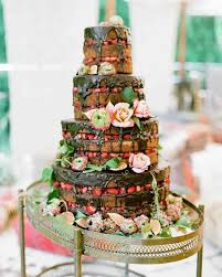 colorful wedding cakes cake boss. Contemporary Wedding 26 Chocolate Wedding Cake Ideas That Will Blow Your Guestsu0027 Minds  Martha  Stewart Weddings And Colorful Cakes Boss