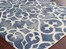 white and blue rug rugs ideas blue white rug