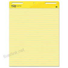 Post It Super Sticky Easel Pad 25 X 30 Inches 30 Sheets