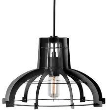 large black iron pendant light lighting