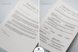 Hired Microsoft Word Resume Template Swiss Style 5 Page Resume