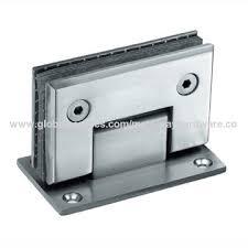 china shower door hinge barcelona 90 glass wall both sides wall mounted