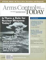 45 Years of History and Accomplishments | Arms Control Association