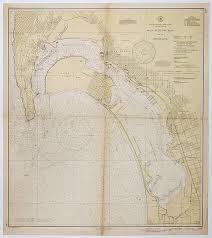 U S Coast And Geodetic Survey San Diego Bay