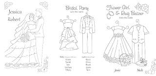 Wedding Color Pages Free Coloring Book Wedding Coloring Pages