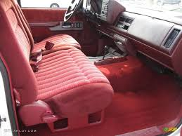 Red Interior 1994 Chevrolet C/K K1500 Z71 Extended Cab 4x4 Photo ...
