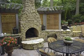 Outdoor patios with fireplace Gas Fireplace Rock Fireplace Arched Firebox Outdoor Fireplace Outdoor Design Build Cincinnati Oh 034vipclub Outdoor Fireplace Pictures Gallery Landscaping Network
