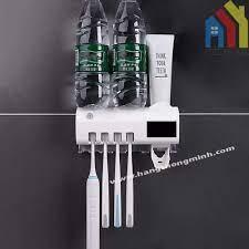 Máy Treo Tiệt Trùng Bàn Chải Đánh Răng | Kệ Lấy Kem Đánh Răng Tự Động