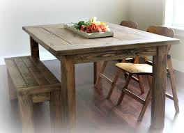 red hen home s farmhouse table and bench