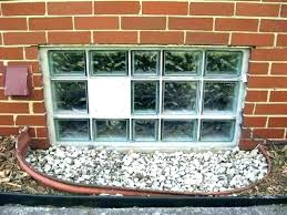 glass block vent glass block glass block basement window image of glass block basement windows glass
