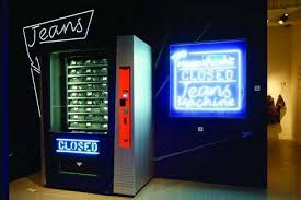 Vending Machine Buyers Inspiration Denim Vending Machines Buying Designer Jeans Just Got As Easy As