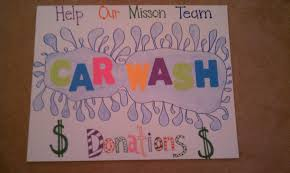 car wash poster ideas diy inspired fundraiser signs