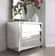 smoked mirrored furniture. Furniture Beautiful Mirrored Chest Of Drawers For Home Glass Draws Exterior House Design Smoked W