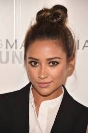 Top Knot Hair Style shay mitchell top knot hairstyle long hair dont care 2681 by wearticles.com