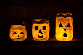 Jack O Lantern How To Make Jack Olantern Nightlight Jars