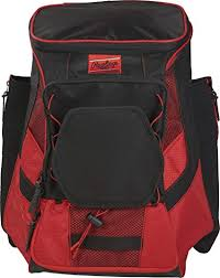 Rawlings <b>Players Backpack</b> R600, Scarlet: Amazon.ca: Sports ...