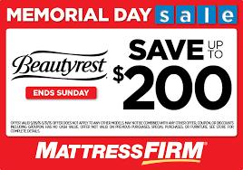 mattress firm ad. Beauty Rest Firm Full Or Queen Mattress Set $498.99 Coupon Ad A
