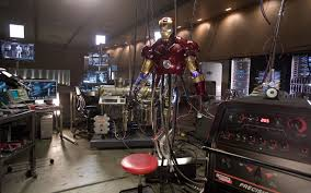 iron man office. Movie Iron Man Tony Stark Wallpaper Office