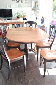 Refinished Kitchen Tables My Greenbrae Cottage Dining Table Refinish With Annie Sloan