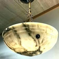 alabaster bowl pendant lighting alabaster light fixtures alabaster chandeliers alabaster pendant