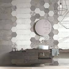 hexagon tiles bathroom wall hexagonal bluestone tile shower floor