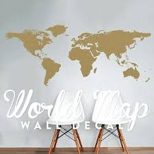 travel wall decor world map wall decal travel wall decor map wall by black travel themed room decor
