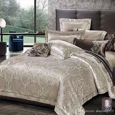 hot designer luxury bedding set jacquard jpg