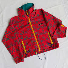 Sierra Designs Jobs Vintage Sierra Designs Cactus All Over Print Red Depop
